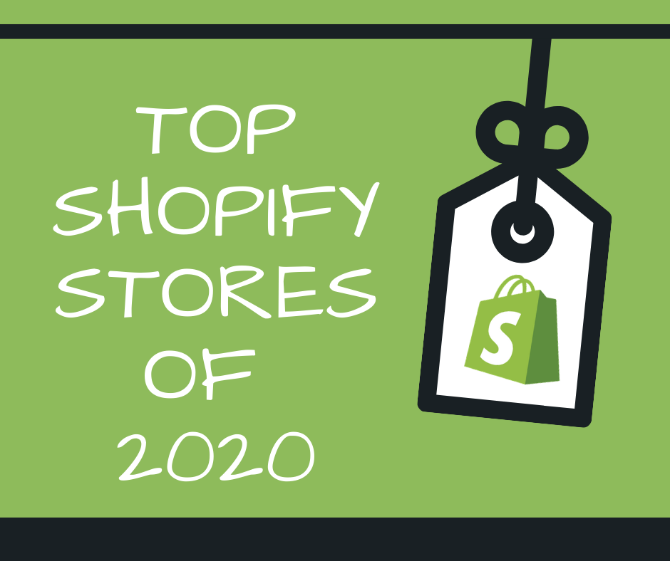 Top Shopify stores 2020