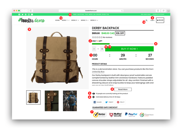 Shopify Booster Theme Review 2020